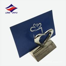 Sostenedor de la tarjeta del nombre comercial del negocio de la venta directa de la fábrica