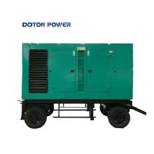 Generador Diesel de Remolque de Contenedor de Bajo Consumo
