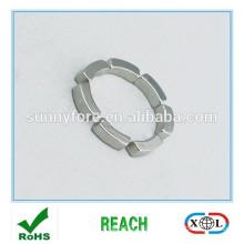 powerful N35SH arc segment magnets