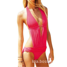 1-piece Swimsuit, Customized Printing Designs are Accepted, Made of 82% Nylon and 18% Spandex