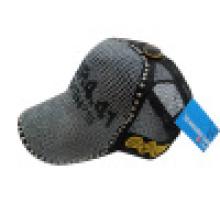 Sombrero de camionero con clavos de metal (camionero 6)