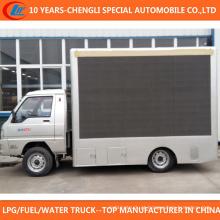 4X2 LED Publicidade Caminhão Outdoor LED tela Mobile Truck
