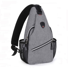 Newest Fashion Outdoor Waterproof Chest Crossbody Sling Bag For Men