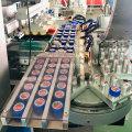 Automatic plastic caps pad printing machine
