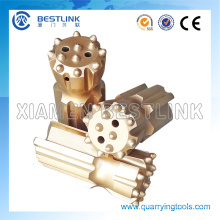 T38 T45 T51 R32 Retrac Type Thread Button Bit for Fast Drilling and Quarrying