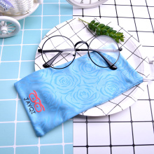 Customized Superfine Fiber Reading Glasses Pouch