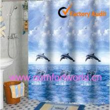 Rideau de douche imperméable à l'eau