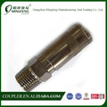 England Self - Lock 22mm Female NBR, EPDM Brass, Steel Quick Couplers For High Pressure Air