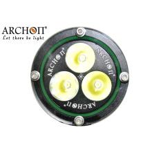 Wh36 Plongée Lampe de poche 3, 000lm Équipement de plongée