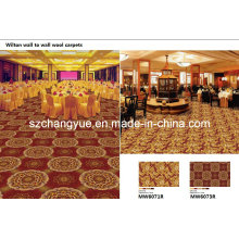 Máquina Woven Wide Loom Wilton PP Heat Set Rolo Carpet
