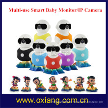 Monitor sem fio audio do bebê de Digitas do Tow-way com luz do IR