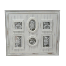 White Couples Wooden Photo Frames for Home Deco