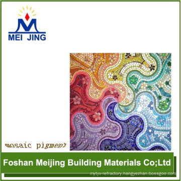 mosaic pigment for anti static floor producer