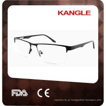 2017 Novos moldes ópticos metálicos clássicos para homens, óculos metálicos