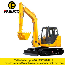 High Quality Excavator With Hydraulic Hammer