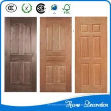 Novo produto De Alumínio De Madeira porta da pele de grãos em porta lateral-pendurado porta de alumínio preço