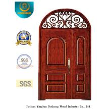 European Style Picture Security Tür mit Eisen (B-9012)