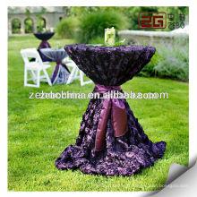 Factory Supply Haute qualité Nouveau design Rosette Tissu de table pour le mariage