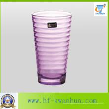 Coupe en verre avec couleur Bon prix Verrerie Kb-Jh06159