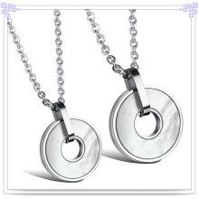 Moda jóias colar de pingente de aço inoxidável (nk209)