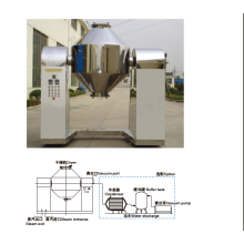 Twins Tape Roating Vacuum Chamber Drying Machine
