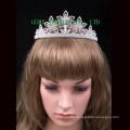Corona nupcial del rhinestone de la tiara de la manera