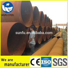 ASTM A252 Grado 2, Grado 3 Pila de tubos de acero LSAW / SSAW