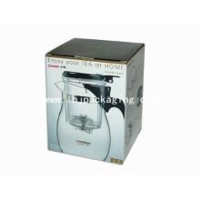 Boîte à thé / bouilloire de luxe Chaudière de chauffage électrique à eau chaude Boîte d'emballage
