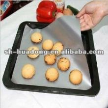 Resistente ao calor PTFE revestimento forro do forno de fibra de vidro