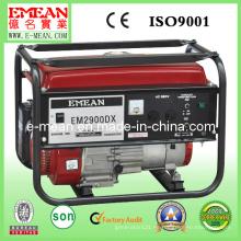 Generador de gasolina manual 3kw Elemax / Tigmax / generador de potencia