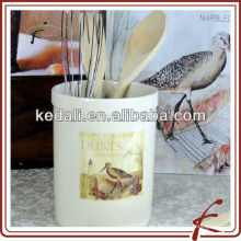 China de fábrica Venta al por mayor de porcelana cerámica herramienta titular del utensilio