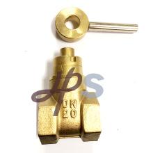 A válvula de porta de bronze Lockable magnética forjada forjou a válvula de porta de bronze Lockable magnética (HG25) Especificação: