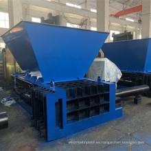 Equipo hidráulico de la empacadora de latas de metal de acero de aluminio