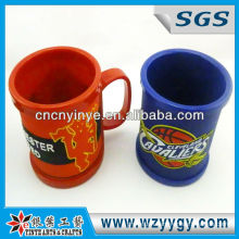 PP Plastic Cup With Soft Pvc Cover