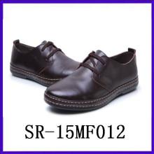 Schwarze Lederschuhe für Männer Anzug Kleid Schuhe formale Abnutzung