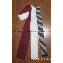 Cravate en jacquard en tricot en soie