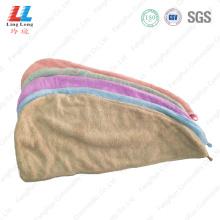 Microfiber hair fast dry towel sponge