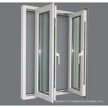 Fenêtre pliante en aluminium