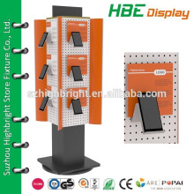 rotating mobile phone display stand,revolving mobile phone display stand,acrylic display stand for mobile accessories