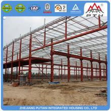 Venta al por mayor de bajo costo prefabricados de estructura de acero ligero casa marco
