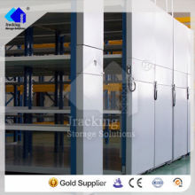 Jracking móvil eléctrico utilizado estantería comercial estantería móvil eléctrica