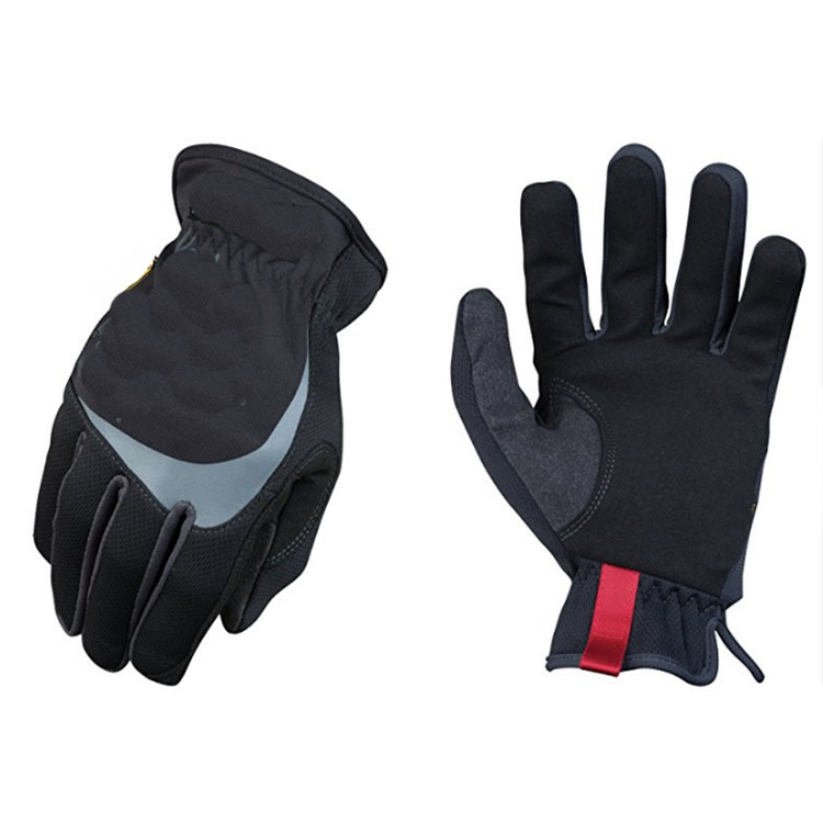 Black Gas Oil resistant gloves