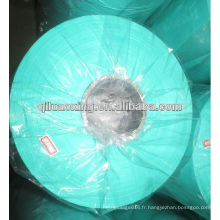 LLDPE noir / blanc / vert Film d'emballage d'ensilage