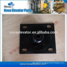 Almofada anti-vibração quadrada para a base do motor