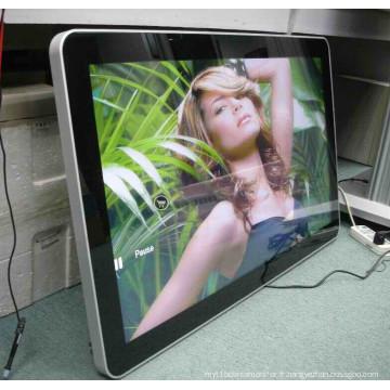 47 '' Montage mural Affichage TFT LCD publicitaire avec lecteur multimédia