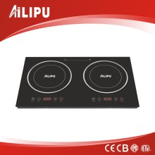 2016 New Design CE CB RoHS EMC Double Induction Hobs/Electric Burners Plate