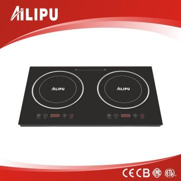 2016 новый дизайн CE ЦБ RoHS сертификат ЭМС двойной индукционная плита/электрическая конфорки плиты
