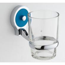 Высокое качество Ванная комната одноместный держатель стакана со стеклянной чашке (JN10238)