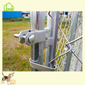 Galvanized Large Chain Link Pet Dog Run Fence