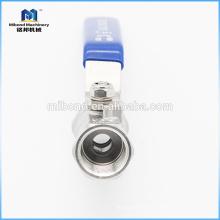 Válvula de bola eléctrica de acero inoxidable ASTM de marca internacional